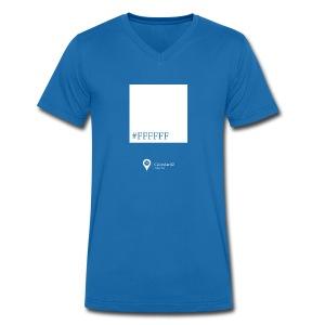 Color white! - Men's Organic V-Neck T-Shirt by Stanley & Stella