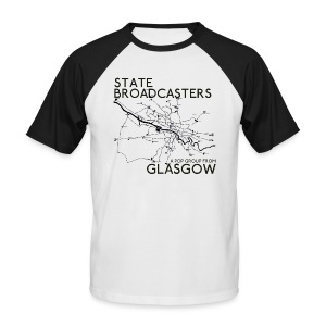 Pop Group From Glasgow - Men's Baseball T-Shirt