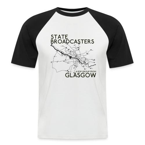 Pop Group From Glasgow - Men's Baseball T-Shirt