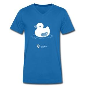 Rubber duck! - Men's Organic V-Neck T-Shirt by Stanley & Stella