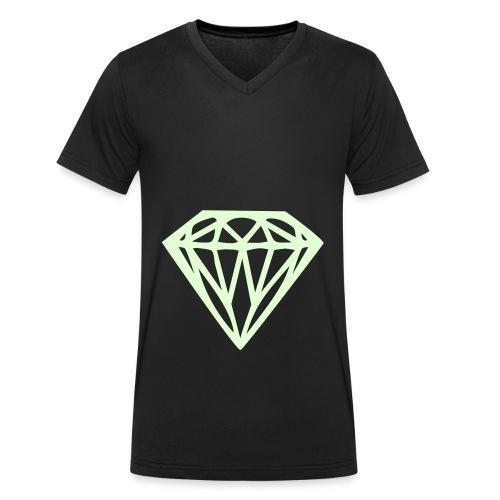 Diamond shirt für Jungens! - Männer Bio-T-Shirt mit V-Ausschnitt von Stanley & Stella