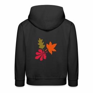 Herbstblätter - Kinder Premium Hoodie