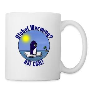 Waltux Le Pingouin pour Droitier! - Mug blanc