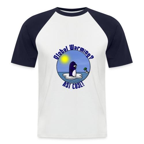 Waltux Le Pingouin BaseBall Style - T-shirt baseball manches courtes Homme