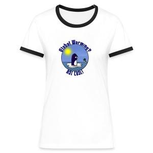 Waltux Le Pingouin For Girls - T-shirt contrasté Femme