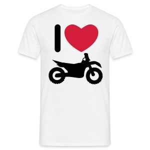 I love biking FlexShirt HQ - Männer T-Shirt