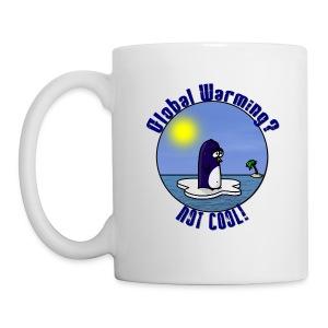 Mug Waltux Le Pingouin pour Gaucher - Mug blanc