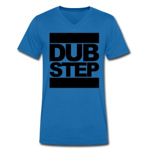 Dubstep V-Shirt - Men's Organic V-Neck T-Shirt by Stanley & Stella