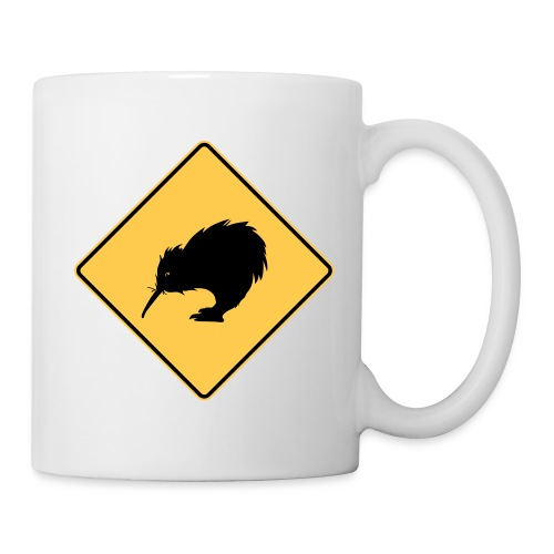 Kiwi en danger ! - Mug blanc