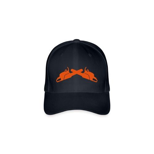 Base Cap mit Logo - Flexfit Baseballkappe