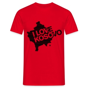 I Love Kosovo - Men's T-Shirt