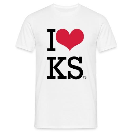 I Love Kosovo - Men's T-Shirt