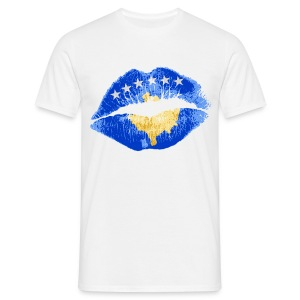 Kosovo Kiss - Men's T-Shirt