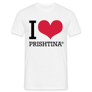 I Love Prishtina - Men's T-Shirt