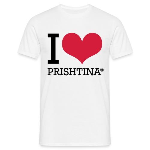 I Love Prishtina - Men's T-Shirt