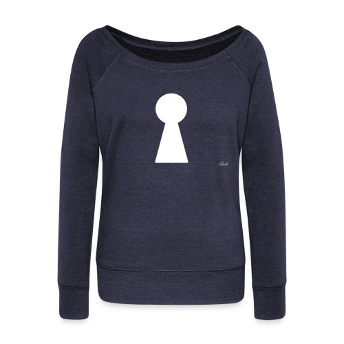 Key - Women's Boat Neck Long Sleeve Top