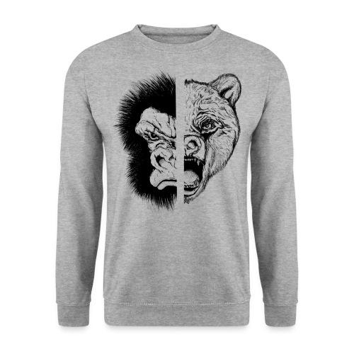 Gorilla Vs. Bear - Men's Sweatshirt
