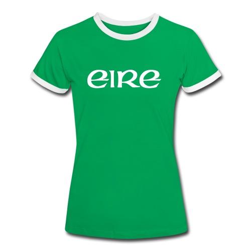 ireland Sport T-Shirts - Frauen Kontrast-T-Shirt