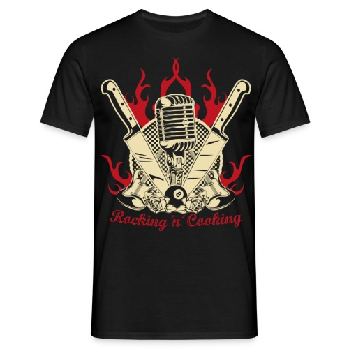 ROCKING ´N´ COOKING 1.0 - Männer T-Shirt