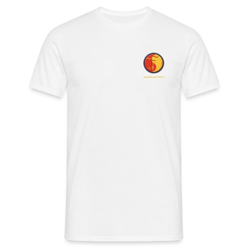 Jamestown Ferry Logo - Männer T-Shirt