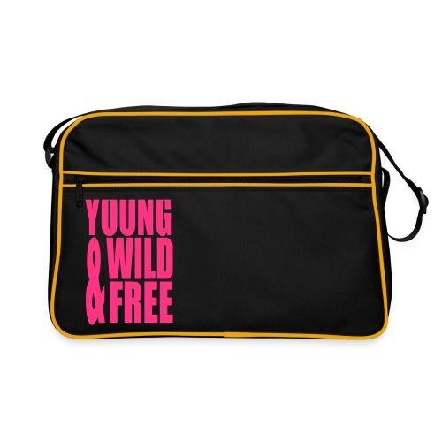Väska ( Young, wild & free ) - Retroväska