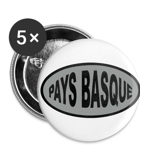 Badge ferias 3,fêtes Bayonne, Dax, etc - Badge moyen 32 mm
