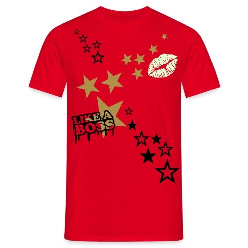 B.B. Stars-Engine T-Shirt For Men - Männer T-Shirt