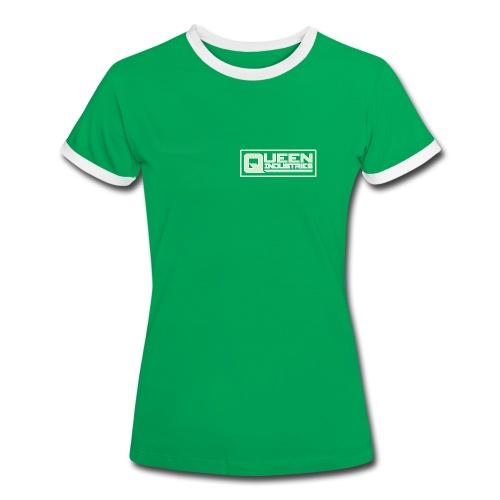 Queen Industries Tee - Ladies - Women's Ringer T-Shirt