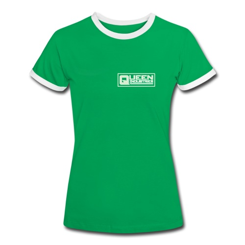 Queen Industries Tee - Ladies - Women's Ringer T-Shirt