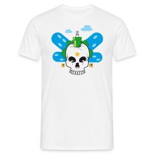 [Bizarre world] blanc - Men's T-Shirt