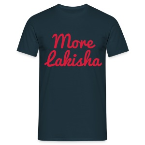 More Lakisha t-shirt red/navy - Men's T-Shirt