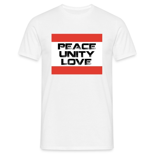 Peace Unity Love - Men's T-Shirt