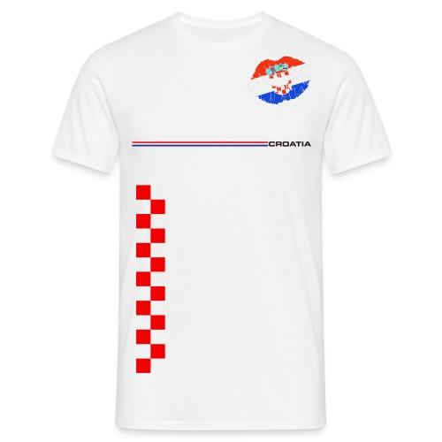 B.B. Stars Engine - Team Croatia For Men - Männer T-Shirt