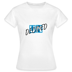 Official Undecided Tee - Blue - Women's T-Shirt
