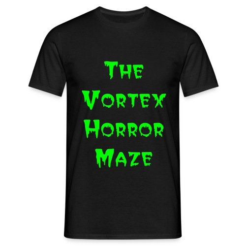 The Vortex Horror Maze Mens T-Shirt - Men's T-Shirt