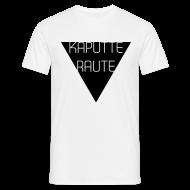 T-Shirts ~ Männer T-Shirt ~ Dreieck - Kaputte Raute