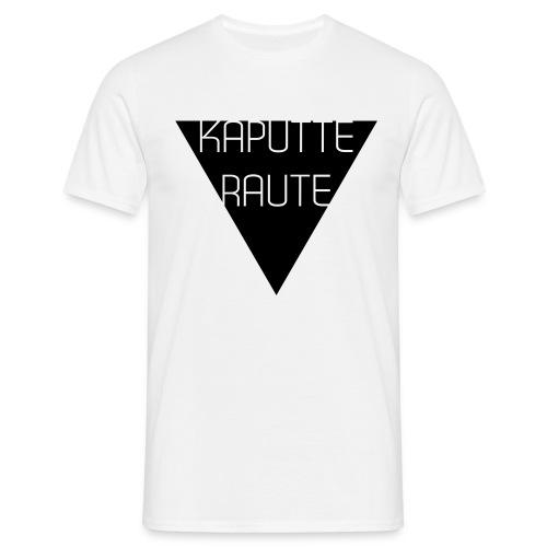 Dreieck - Kaputte Raute - Männer T-Shirt