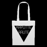 Taschen & Rucksäcke ~ Stoffbeutel ~ Dreieck - Kaputte Raute