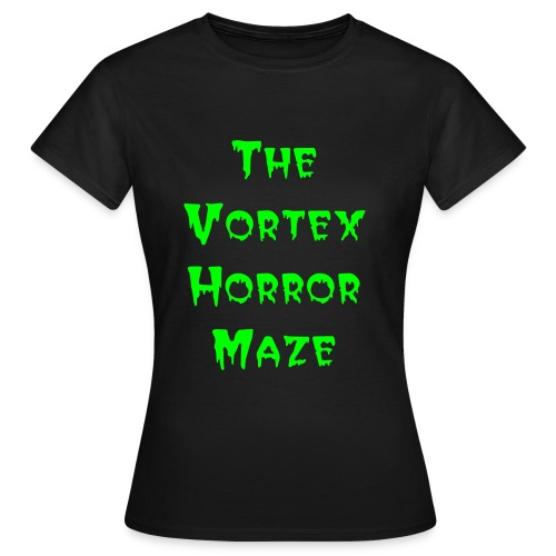 The Vortex Horror Maze Womens T-Shirt - Women's T-Shirt