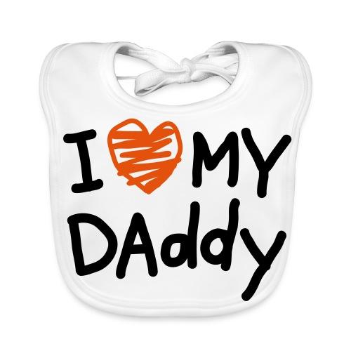 I Love Daddy - Baby Bio-Lätzchen