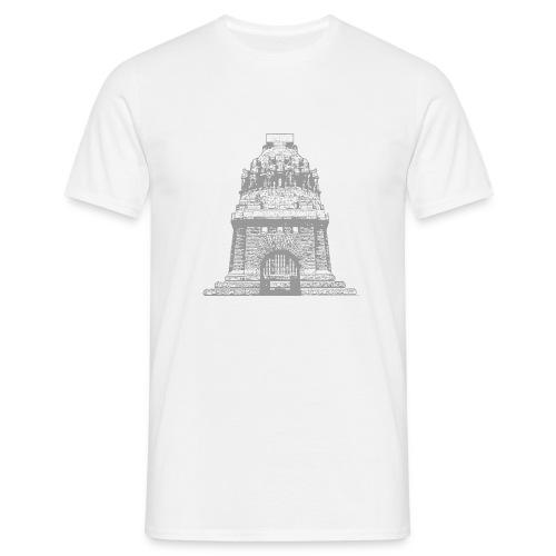 Völkerschlachtdenkmal klein - Männer T-Shirt