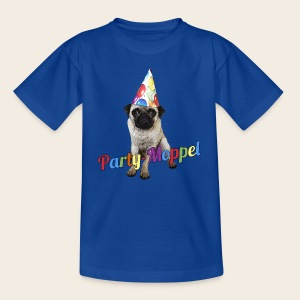 Kinder-Shirt Party-Moppel - Kinder T-Shirt
