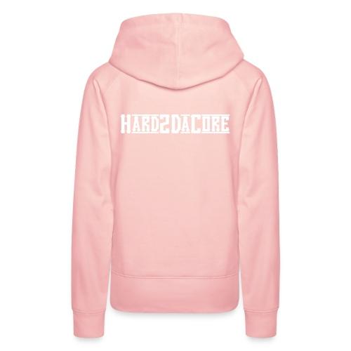 Hard2DaCore Hoodie -pink- woman - Frauen Premium Hoodie