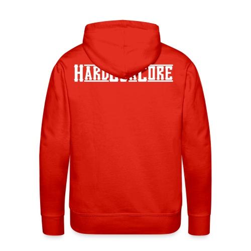 Hard2DaCore Hoodie -red- man - Männer Premium Hoodie