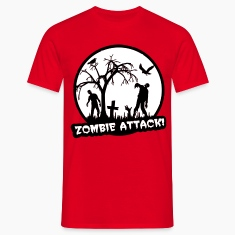 Zombie Attack - Halloween T-Shirts