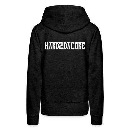 Hard2DaCore Hoodie -brown- woman - Frauen Premium Hoodie