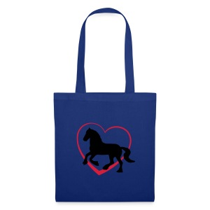 Fresian or Gypsy Cob horse bag - Tote Bag