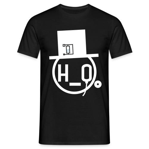 hoheitsgewässer & himmelreichsfleisch _logo_blk - Men's T-Shirt