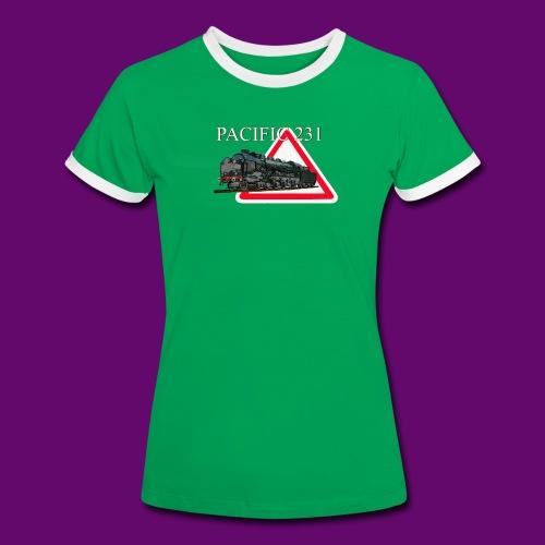 PACIFIC 231 - T-shirt contrasté Femme