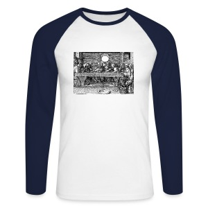 The Last Supper - Men's Long Sleeve Baseball T-Shirt